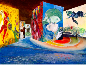 Chagall in Les Baux